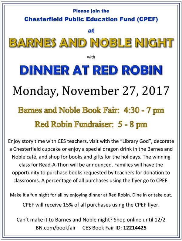 Barnes & Noble / Red Robin